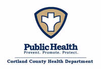 Cortland County Health Department logo