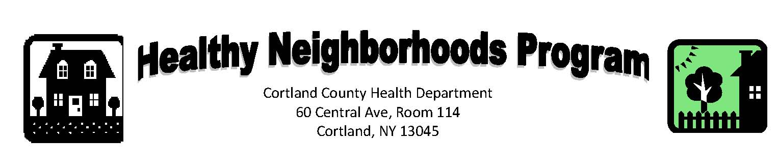 Healthy Neighborhood Program logo
