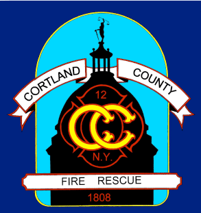 Cortland County Fire Rescue Patch