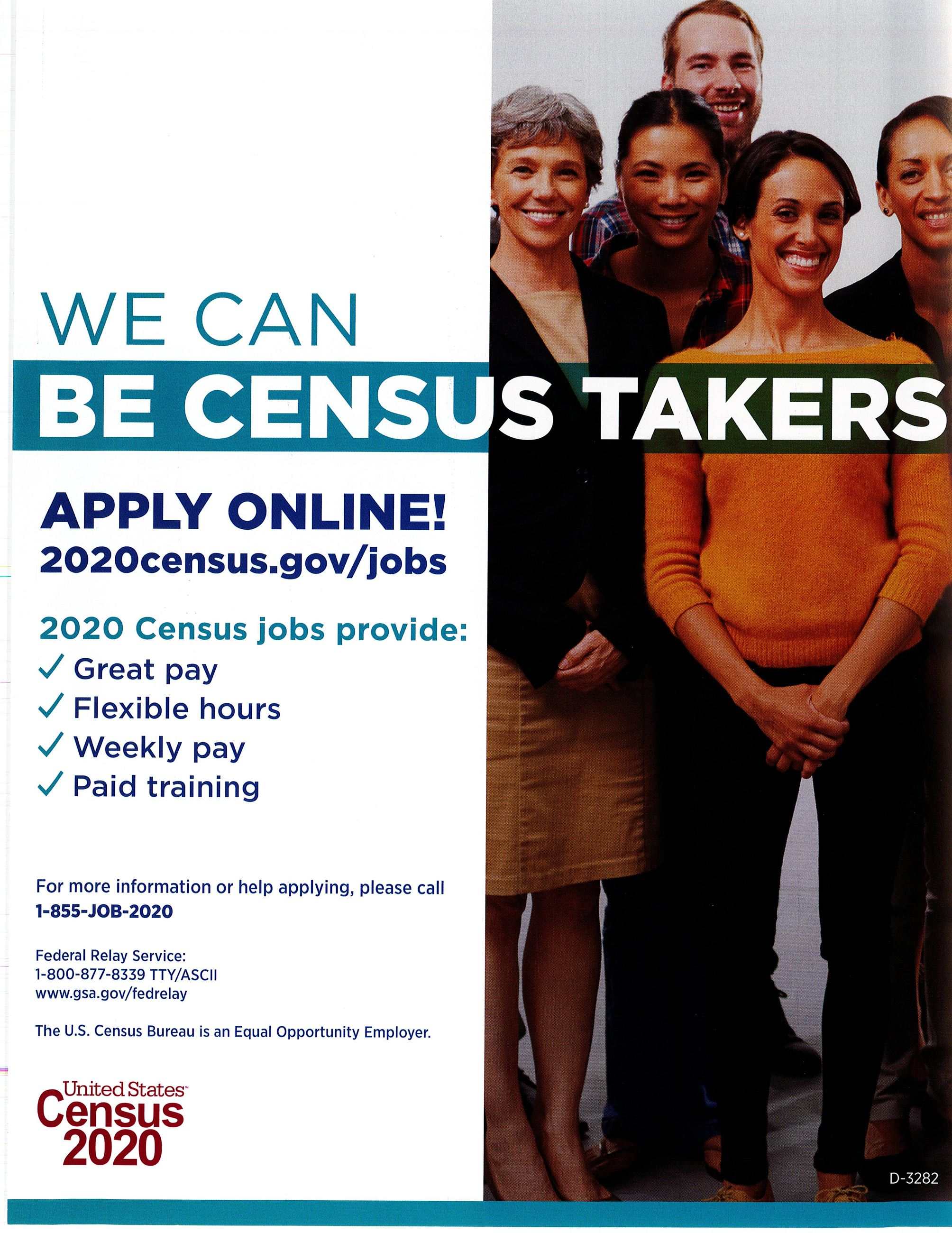 Census Job Opportunity
