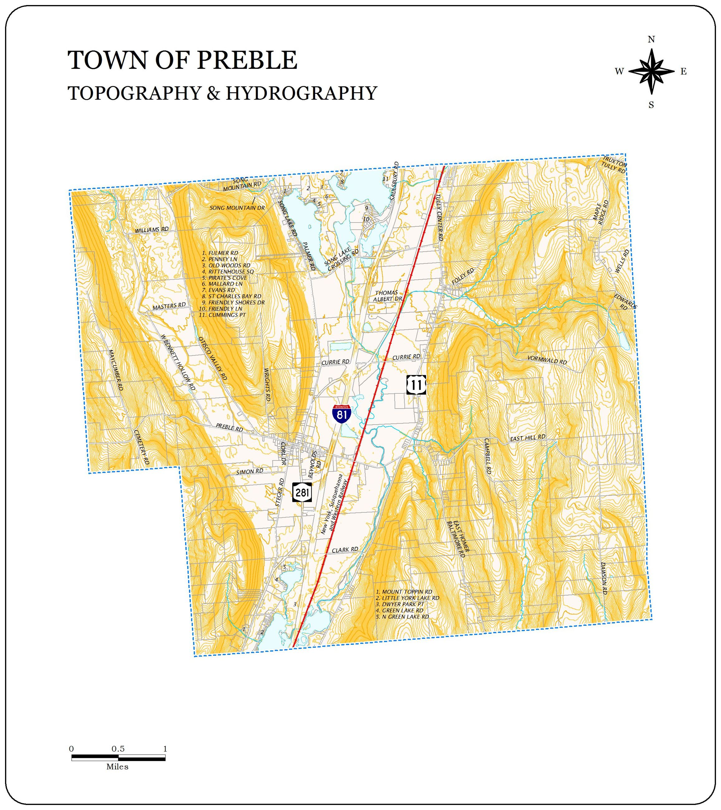 preble topography and hydrography