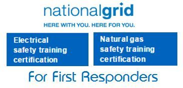 national grid training button