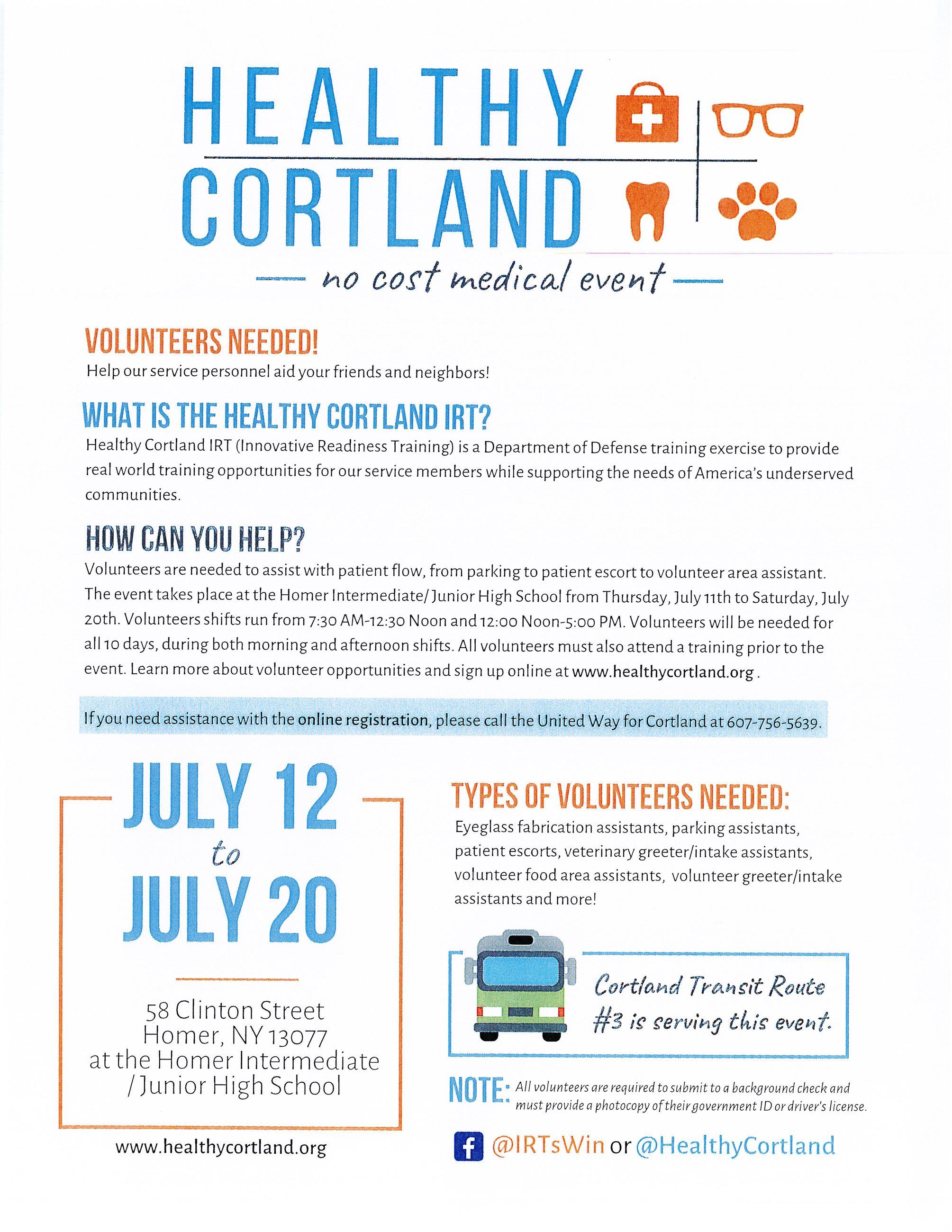 Cortland County NY